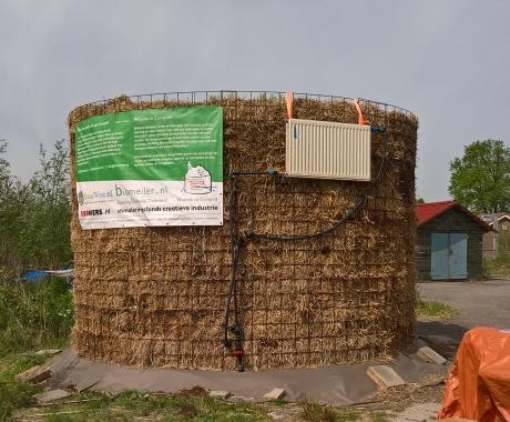 Biomeiler Suikerunie terrein